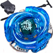 BLUE Assault Ultimate Meteo L-Drago BB98 Beyblade STARTER SET w/ Launcher Ripcod