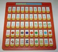 Kiddicraft Flip-Up Learning Center Alphabet Colors Numbers Preschool Toy