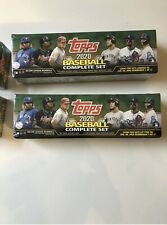 Lot of 4-2020 Topps Baseball Complete Factory Sealed Set Series 1&2. Green box,