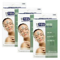 Korea TERA Wrinkle Care Tape Frown Lines Eye Rims Laugh Lines Taping 60 Patches