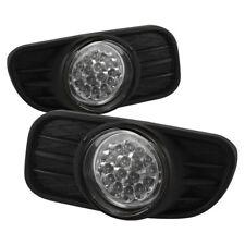 1999-2004 Jeep Grand Cherokee LED Fog Lights Bumper Lamp w/Switch/Harness/Wiring