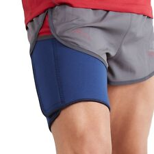 Actesso Blue Neoprene Thigh Support Brace Quad Strap Hamstring Pain Leg Wrap