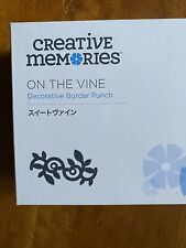 NIB Creative Memories ON THE VINE border punch