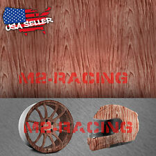 "19""x78"" Hydrographic Film Hydro Dipping Dip Water Transfer Wood Grain Print #1"