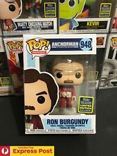 ANCHORMAN RON BURGUNDY CH 4 MUG SDCC SHARED EXCL FUNKO POP VINYL FIGURE #948