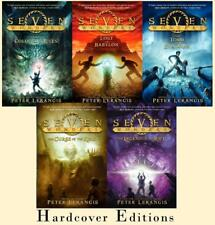 SEVEN WONDERS Children's HARDCOVER Adventure Series by Peter Lerangis Books 1-5
