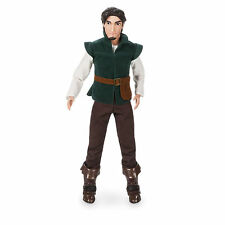 "Disney Store Flynn Rider Tangled Rapunzel's Prince Classic Doll 12"" Figure New"