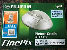 Fujifilm FinePix PIcture Cradle CP-FXA10 Charge Camera & Transfer Photos NEW