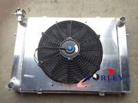 Aluminum Radiator For Commodore VG VL VN VP VR VS V8 Manual+ Shroud+ Thermo Fan