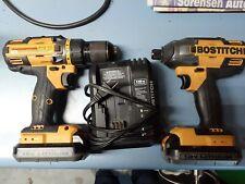 Bostitch 18V Cordless Combo Kit BTC440 Impact BTC400 Drill 220916