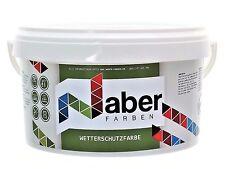 (6,99 €/L)  10 Liter - Wetterschutzfarbe - ANTHRAZITGRAU RAL 7016 -