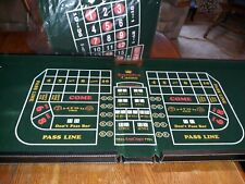Excalibur 6-In-1 Casino House Craps, Black Jack, Roulette Suit Case Cabinet Set