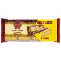 Highland Shortbread Fingers 4x100g, Great treat for everyday wich you will enjoy