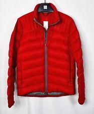 Canada Goose Mens Brookvale Jacket 5500M Red Puffer Size Small S Down Jacket