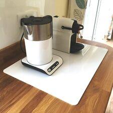 Rectangular Acrylic Worktop Saver - White