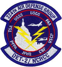 USAF 224th AIR DEFENSE GROUP - DETACHMENT 2 - PATCH