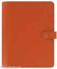 The Filofax Original Leather Organizer A5 Burnt Orange - UK- 2017 Diary