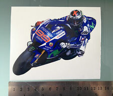 Jorge Lorenzo Sticker / Decal - MotoGP YZR-M1 Bike Sticker - 126mm x 95mm
