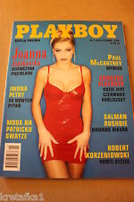 Playboy 1/1998 Joanna Janikowska, Paul McCartney,Patrick Swayze,I.Petry