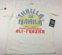 Roots Of Fight Joe Frazier Muhammad Ali Thrilla Manila T-Shirt Size Small-2XL