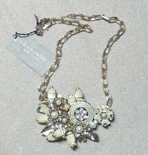 MIRIAM HASKELL Embellished Necklace with original tag