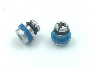 2 x Prestige Aluminium Pressure Cooker Safety Valve Plug for 4,5,6 Ltr High Dome