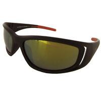 Vuarnet Extreme Unisex VE5001 Athletic Plastic Sunglasses, Matte Brown