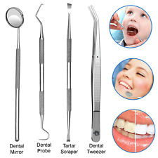 Dental Teeth Cleaning Kit Dentist Floss Plaque Remover Oral Care Tooth Tools