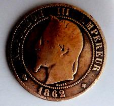 10 centimes NAPOLEON III 1862-BB