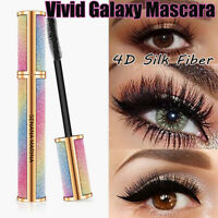 Vivid Galaxy Mascara 4D Silk Fiber Lashes Thick Lengthening Waterproof Mascara