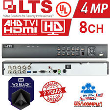 LTS 8CHANNEL DVR 8CH 3TB WD LTD8308K-ETC HYBRID 1080P + 2CH Ip 4 MP