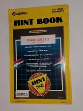 Space Quest 2 Factory Sealed Hint Book 1989 Sierra Vohaul's Revenge