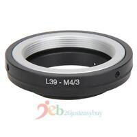 L39 M39 Lens to Micro M 4/3 M43 Adapter Ring f Leica L39-M4/3 E-PM2 OM-D E-M5 G1