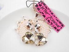 Betsey Johnson Fashion Jewelry crystal rhinestone horse pendant necklace #A