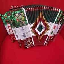 Organetti Della Noce 2 bassi Modello Bandiera in Sol o Re.Celluloide.