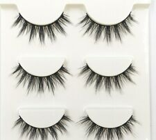 Black Eyelashes Fake Fashion Makeup Ball Smoke Soft 3D