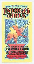 Indigo Girls Handbill 2000 Dec 10 EMU Convention Center Ypsilati