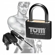 Tom of Finland Metal Lock & Collectors Print Bondage Brass Padlock Pad Lock BDSM
