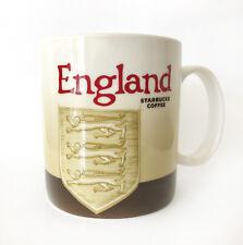 Starbucks England Global Icon Mug 16 Oz 2010 Rare MIC Version 1 Coat of Arms