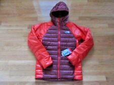 NORTH FACE MENS IRON JACKET, RED/ORANGE, 700 PRO DOWN, RESISTANT, NWT $299, S