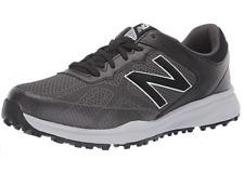 New Balance Breeze Spikeless Golf Shoes - Black White/Grey