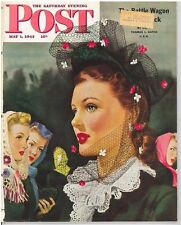 The Saturday Evening Post Post Alex Ross May 1 1943 Vintage Gift