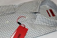 Hugo Boss Men's 100% Cotton SMILE Slim Fit Dress Shirt NWT $148 Size Large