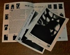 MC 900 FT JESUS One Step Ahead... orig. American 1994 press kit w/  2 photos