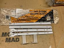 4 jeux complets de véritable FGV 450mm glissières de tiroir noir 20 kg TOP MARQUE bargain!!