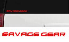 Fishing Vinyl Die-Cut Peel N/' Stick Decals Savage Gear II Outdoors Sports