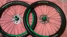 """DT Swiss CSW AM 3.7 27.5"""" (650b) Wheelset. Maxxis, Tubeless, Shimano 180 Rotors"""