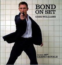 Bond on Set: Filming 007 Casino Royale Buch Bilderband
