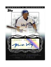 2007 TOPPS MOMENTS &MILESTONE MATT KEMP  Aut0