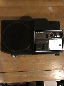 Bell & Howell LX58 Standard 8mm & Super 8 Multi-SPEED Movie Projector BRAND NEW